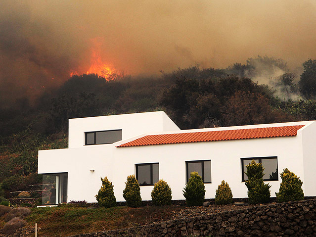 Waldbrand auf La Palma