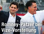 Mitt Romney und sein Vize Paul Ryan