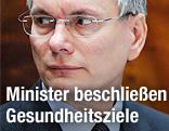 Gesundheitsminister Alois Stöger
