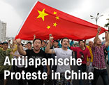 Demonstrationen gegen Japan in China