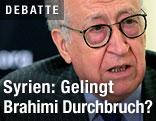 UNO-Syriengesandte Lakhdar Brahimi