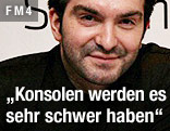 Cevat Yerli, Chef der Spielefirma Crytek