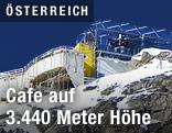 Baustelle der neuen Bergstation der Wildspitzbahn