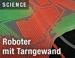 Wissenschaftler haben eine Oberfläche für Roboter entwickelt, die sich an die Umgebung anpassen kann