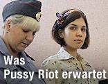 Pussy-Riot-Sängerinnen werden abgeführt
