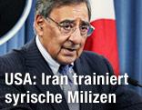 US-Verteidigungsminister Leon Panetta bei seiner rede im Pentagon - syrien_panetta_iran_1k_front_r.2166059