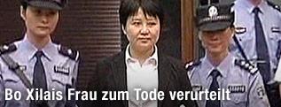 Ehefrau des gestürzten chinesischen Politikers Bo Xilai, Gu Kailai
