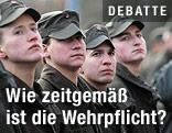 Rekruten des Österreichischen Bundesheeres