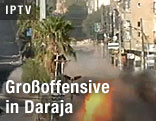 Straßenkämpfe in Daraja