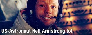 Neil Armstrong im Lunar Modul, 1969