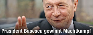 Rumänischer Präsident Traian Basescu