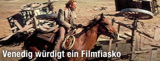 """Szene mit Reiter aus dem Film """"Heaven's Gate"""""""