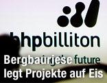 Logo der Berbaufirma BHP Billiton