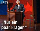Clint Eastwood hält eine Rede