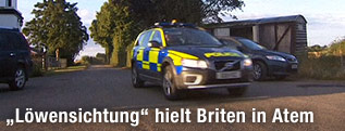 Polizeiauto in Essex