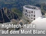 Screenshot der Schutzhütte Dome du Gouter am Mont Blanc