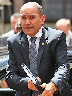 Der slowenische Ministerpräsident Janez Jansa