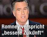 Mitt Romney hält eine Rede