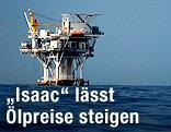 Ölplattform im Golf von Mexiko