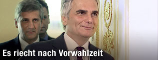 Vizekanzler Michael Spindelegger und Bundeskanzler Werner Faymann