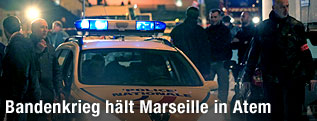 Polizeieinsatz in Marseille