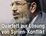 Ägyptens Präsident Mohammed Mursi