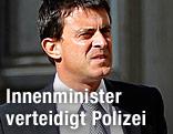 Französischer Innenminister Manuel Valls