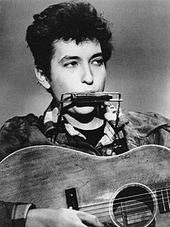 Bob Dylan im Jahr 1963