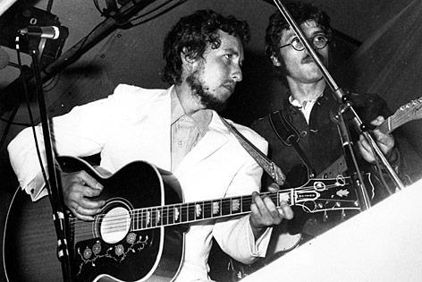 Bob Dylan 1969 in einem Konzert