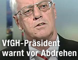 Präsident des Verfassungsgerichtshofes, Gerhart Holzinger
