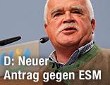 CSU-Politiker Peter Gauweiler