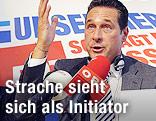 FP-Bundesobmann Heinz Christian Strache