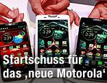Neue Motorola Modelle Droid Razor M, Droid Razor HD und  Droid Razor Maxx HD
