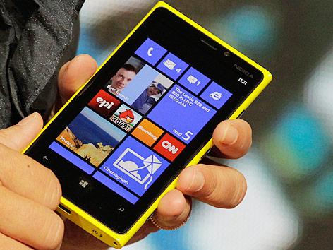 Das neue Nokia-Handy Lumia 920