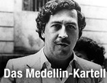 Kolumbianischer Drogenboss Pablo Escobar