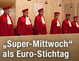 Verfassungsrichter in Karlsruhe