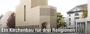 Rendering des neuen Bet und Lehrhaus in Berlin