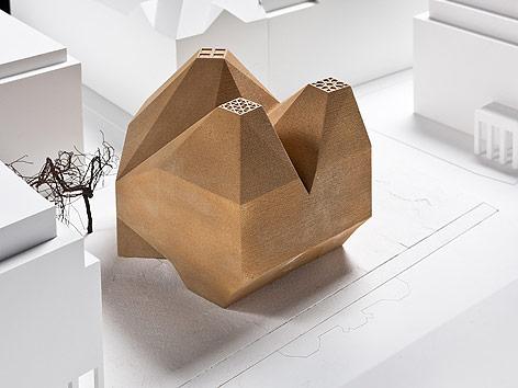 Modell vom dritten Platz, Bet und Lehrhaus Berlin
