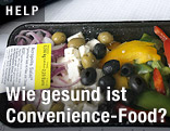 Verpackter griechischer Salat