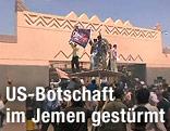Protestierende stürmen US-Botschaft in Sanaa