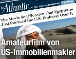 "Screenshot des Films ""Innocence of Muslims"" auf theatlantic.com"