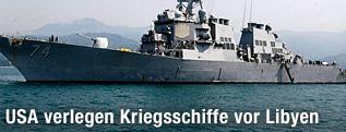 """US-Kriegsschiff """"McFaul"""""""