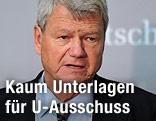 """Der Obmann im zweiten Untersuchungsausschuss """"Terrorgruppe nationalsozialistischer Untergrund"""", Wolfgang Wieland"""