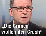 ÖVP-Klubobmann Karlheinz Kopf in der ORF-Pressestunde