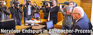 Steuerberater Dietrich Birnbacher im Gerichtssaal