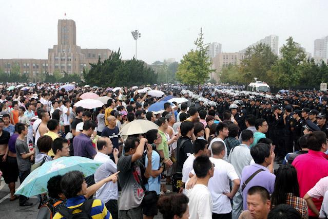 Demonstration in Dalian