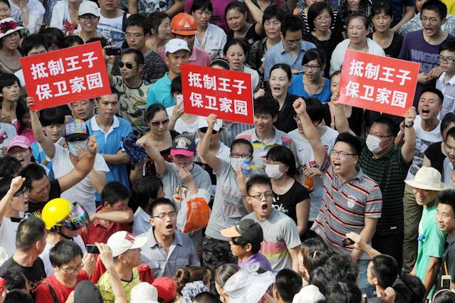 Demonstration in