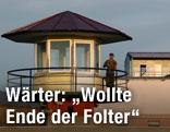 Wärter am Wachturm