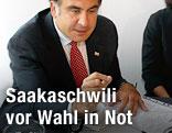 Georgischer Präsident Michail Saakaschwili