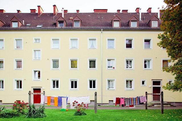 Hartmayrsiedlung, Roth-Limanova-Straße, 2012